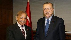 Cumhurbaşkanı Erdoğan Şerif'i kabul etti