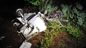 İspanya'da özel uçak kazası