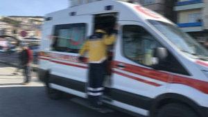 Balıkesir'de ambulansa alınan yaralıdan 112 ekibine silahlı saldırı