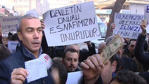 Cumhurbaşkanı Erdoğan'ın 'Dolar Çağrısı'na vatandaşlardan destek