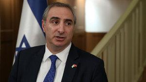 İsrail Büyükelçisi Eitan Na'eh göreve başladı