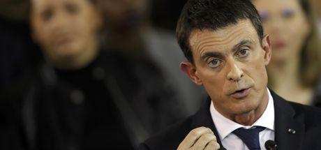 Fransa Başbakanı Manuel Valls istifa edecek