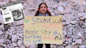 """Suriyeli küçük kız Bana Alabed'in """"AlabedBana"""" Twitter hesabı kapandı"""