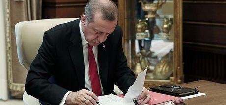 Cumhurbaşkanı Erdoğan'dan iki kanun onayı