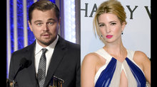 DiCaprio'dan Ivanka'ya babasını kızdıracak hediye