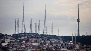 'Çamlıca'daki TV kuleleri yıkılacak'