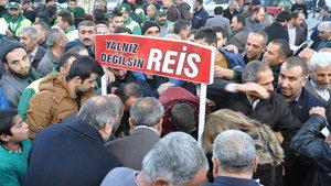 """Adıyaman'dan Erdoğan'a """"yalnız değilsin"""" desteği"""