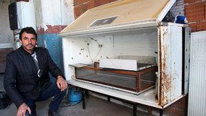 Sivas'ta hurdadan kuluçka makinesi üretti