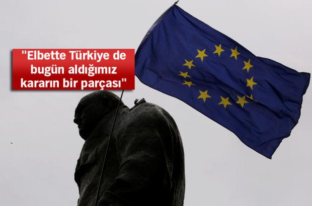 NATO-AB anlaşması sonrası Türkiye açıklaması