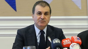 AB Bakanı Ömer Çelik, Christian Berger'i kabul etti