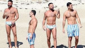 Ricky Martin ile Jwan Yosef tatilde