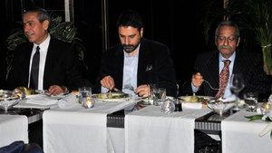 Mesut Mertcan'ın onuruna yemek düzenlendi