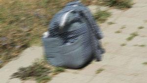 Zonguldak'ta bebek çantasından uyuşturucu çıktı