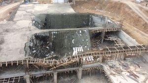 Niğde'de inşaat çöktü: 3 yaralı