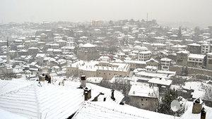 Karabük'te eğitime kar engeli