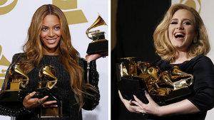 Grammy ödülleri Adele ve Beyonce'yi karşı karşıya getirdi!