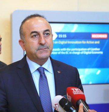 Dışişleri Bakanı Mevlüt Çavuşoğlu, Türkiye ile Almanya ilişkilerini değerlendirdi