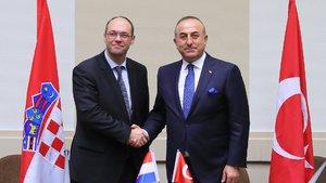 Hırvatistan'dan Türkiye'ye destek