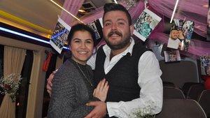 Bilecik'te minibüs şoföründen sürpriz evlenme teklifi