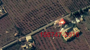 El Bab'da DEAŞ hedefleri böyle bombalandı!