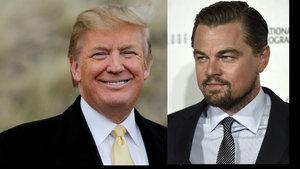 DiCaprio, Donald Trump'a iklim değişikliğini anlattı