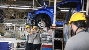 Sanayi ütetimi Ekim'de yüzde 3.7 arttı