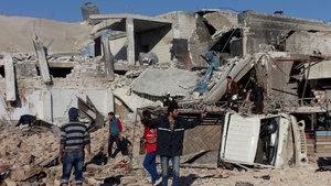 BM'den Halep'te ateşkes çağrısı