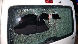 Yeniçağ Gazetesi binasına taşlı sopalı saldırı