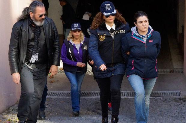 İzmir'de yakalanan teröristler tutklandı