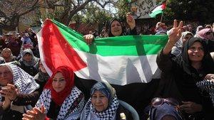 Açlık grevi yapan Filistinliler serbest bırakıldı