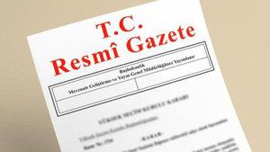 İçişleri Bakanlığı kararı Resmi Gazete'de