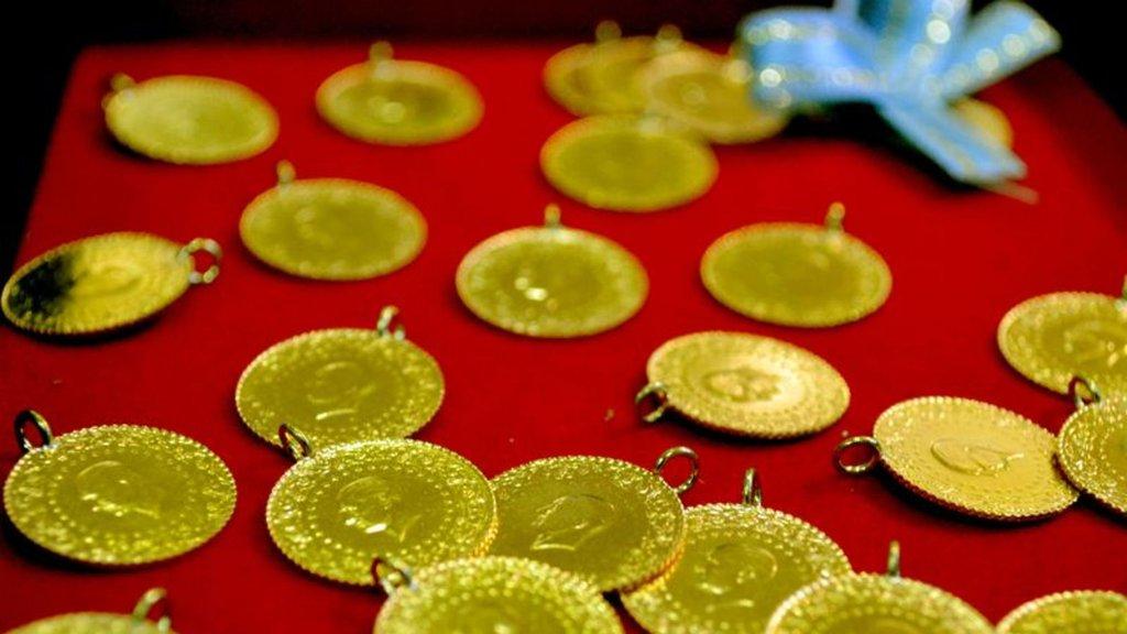 Altının gramı 129 liraya geriledi