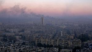 Doğu Halep'te rejim bombardımanı devam ediyor