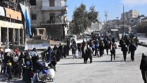 Halep'te yüzlerce sivil erkek kayboldu