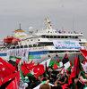 Mavi Marmara gemisine, Akdeniz