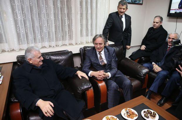 Başbakan Yıldırım'dan MHP ziyareti