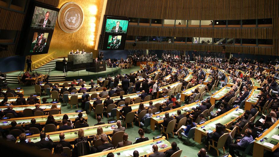 BM'de Suriye tasarısı kabul edildi