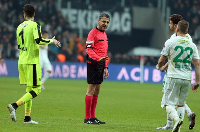 Bülent Yavuz, Beşiktaş-Bursaspor maçındaki pozisyonları yorumladı