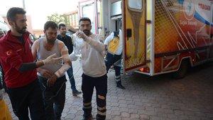 El Bab'da yaralanan askerler Türkiye'de