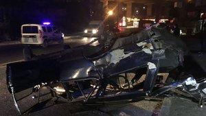 Kağıthane'de trafik kazası: 1 ağır 3 yaralı