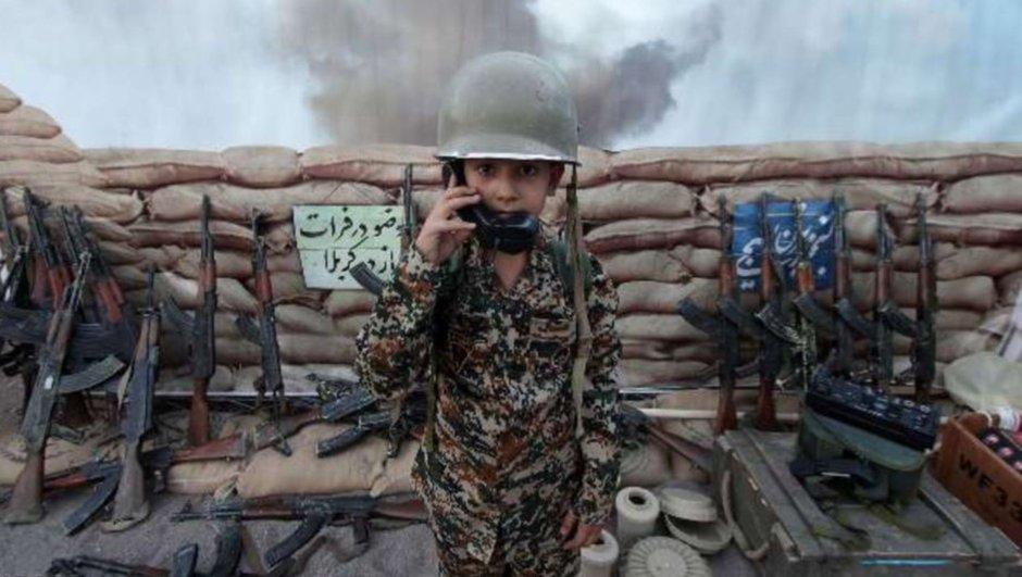 İran'da çocuklar için savaş parkı!