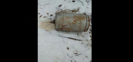Tunceli'de 60 kilo el yapımı patlayıcı imha edildi