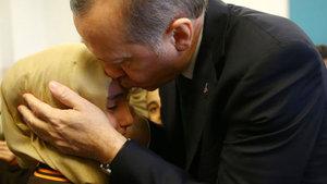 Cumhurbaşkanı Erdoğan öğrencileri ziyaret etti