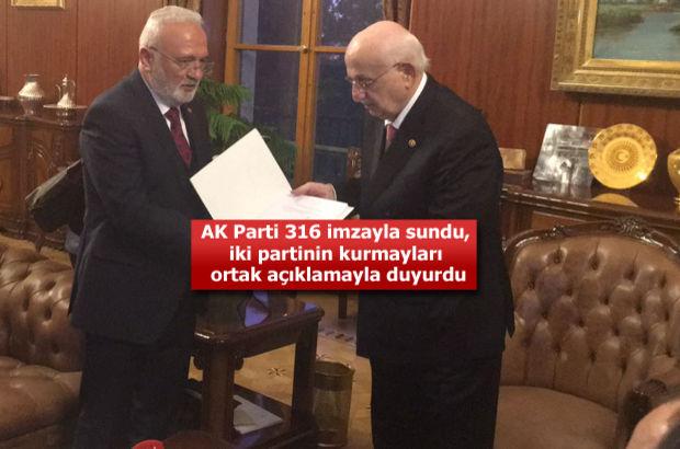 İşte 21 maddelik anayasa teklifi!