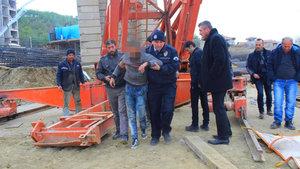 Parasını alamayan inşaat işçisi intihar girişiminde bulundu