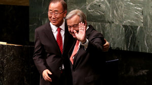 BM'nin yeni Genel Sekreteri Antonio Guterres yemin etti