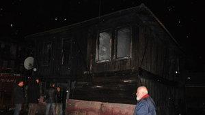 Bartın'da ev yangını: 1 ölü, 1 yaralı
