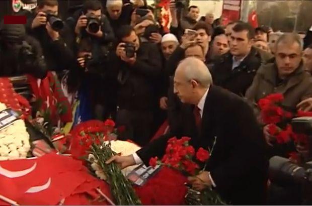 Kılıçdaroğlu Şehitler Tepesi'ne karanfil bıraktı