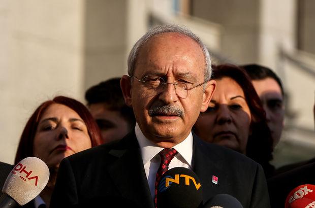 Kılıçdaroğlu'dan İstanbul Emniyet Müdürlüğü'ne ziyaret