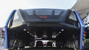 Çin'de Transit Yükseltilmiş Otobüs sınıfta kaldı